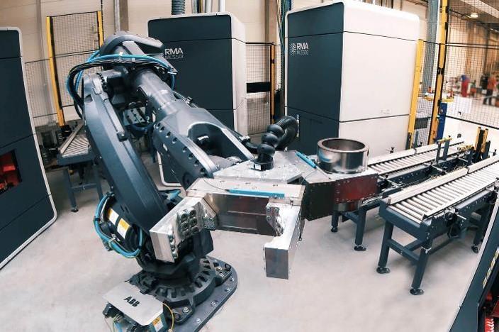 RMA Laser Processing Welding  robot handler
