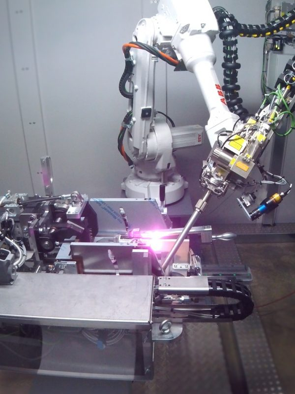 RMA Laser Processing Welding  cell laser head