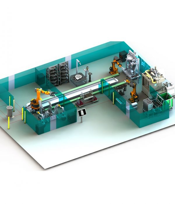 RMA Laser Processing Welding production line