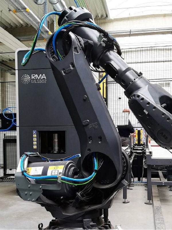 RMA Laser Processing Welding robotized line